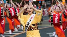 Morioka Sansa Odori Festival. Morioka, Iwate Prefecture, Japan