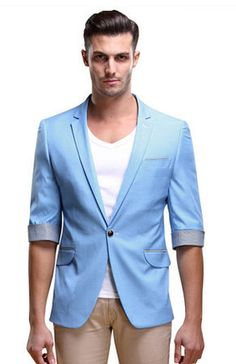 baby blue blazer retro mens - Google Search | Wedding | Pinterest ...
