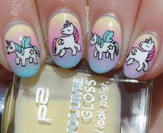 #glamnailschallengeapril Pastel Unicorns