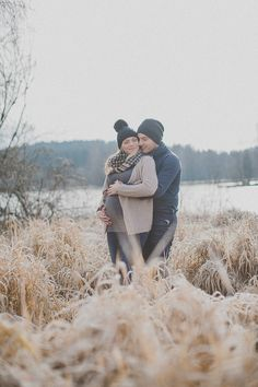 Raureif-Winter-Babybauch-Shooting-mit-Simone-Bauer-Photography #Babybauch