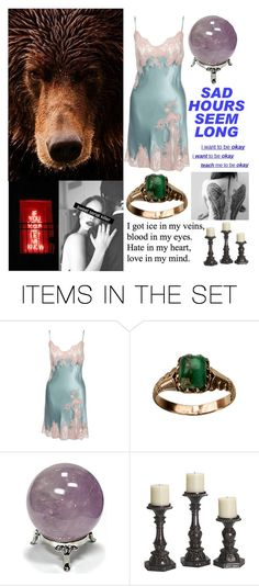 """THiS DaRKNeSS WoNT DISaPPeaR FRoM MY HeaRT 🖤"" by kaninekiller ❤ liked on Polyvore featuring art"