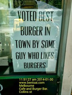 Attract Customers with quirky Burger advertisement   Burger Cafe Food-And-Drinks Ideas Melbourne