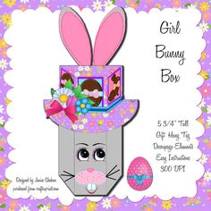 Cute little gift box for Easter!