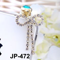 Large Bow Rhinestone JP-472 Dust Plug / Earphone Jack Accessory / Ear Cap / Ear Jack for Iphone / Ipad / Ipod Touch / All Device with 3.5mm Jack by Myvista Brands. $3.88. http://moveonyourmind.com/showme/dphxo/Bh0x0o8cRrRrQp1jXpSr.html