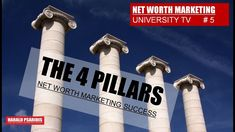 Behind every success - also in Network Marketing & Direct Sales -are foundations that are the same everywhere in the world! Here are the 4 main pillars of su. Direct Marketing, Direct Sales, Net Worth, The 4, Channel, University, Success, Usa, Colleges