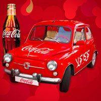 Coca-Cola Car by ammaradv on deviantART Coca Cola Poster, Coca Cola Ad, Always Coca Cola, Coca Cola History, World Of Coca Cola, Coca Cola Decor, Coca Cola Christmas, Vintage Coke, Vintage Posters