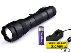 Canwelum - Linterna LED Cree T6 alta potencia... #linterna