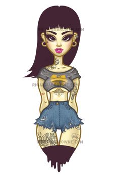WUTANG WOMAN 4 YA BUY HER ON THINGS HERE:  ✖ SOCIETY6 SHOP ✖ REDBUBBLE SHOP