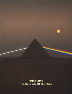 """Pink Floyd: The Dark Side Of The Moon. What's left to say that hasn't already been said? Brilliance personified, and as close as you'll probably ever come to hearing a """"perfect"""" album."""
