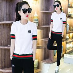 Aliexpress.com   Buy Brand 2017 Spring Casual Suits 2 Piece Set Women  tracksuits Runaway Suit Clothing Casual Womens Sweatshirts Suit Set  survetemen from ... 3afa23fd305