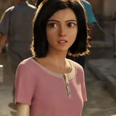 Alita: Battle Angel is a movie starring Rosa Salazar, Christoph Waltz, and Jennifer Connelly. A deactivated female cyborg is revived, but cannot remember anything of her past life and goes on a quest to find out who she is. Cyberpunk, Alita Movie, Alita Battle Angel Manga, Female Cyborg, Angel Movie, Ghost In The Shell, Female Character Design, Digital Art Girl, Beautiful Anime Girl