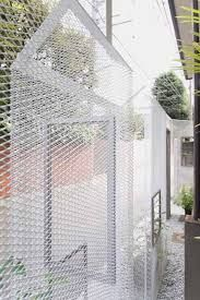 Ghost-like Architecture by Shingo Masuda and Katsuhisa Otsubo Architects - Dezeen Net Architecture, Expanded Metal Mesh, Boundary Walls, Internal Courtyard, Perforated Metal, Contemporary Garden, Facade Design, Garden Structures, Glass House