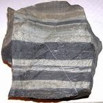 Hornfels - The main contact-metamorphic rock - Photo courtesy Fed on Wikimedia Commons