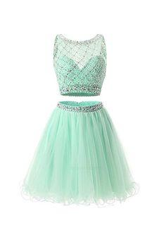 Prom Dresses Two Piece #Prom #Dresses #Two #Piece Homecoming Dresses 2018