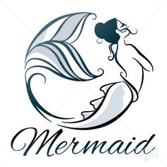 This stunning mermaid forms an arching circle with her elegant and flowing fins.