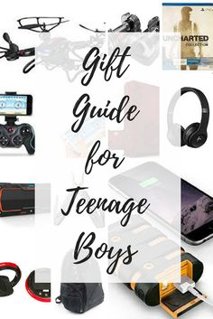 Ultimate gift guide for teenage boys! Let us help take the stress out of the holiday season for you! Presents For Mom, Gifts For Boys, Fathers Day Gifts, Gifts For Him, Holiday Gift Guide, Holiday Gifts, Holiday Fun, Top Gifts, Best Gifts