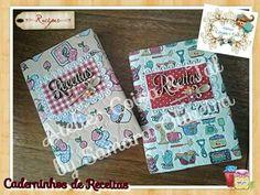Caderninhos de Receitas.