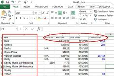 Excel Budget Template | Pinterest | Excel budget template, Excel ...
