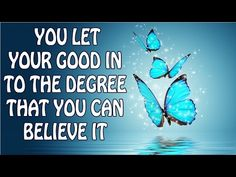 Abraham Hicks - You let your good in to the degree that you can believe it - YouTube