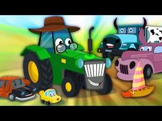 Join #kidschannel in the car world with #oldsmacdonald #nurseryrhyme #kidsong #children #carrhymes #toy
