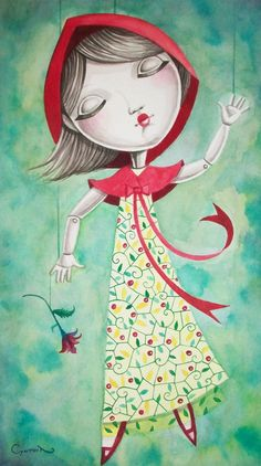 Pinzellades al món: Caputxeta Roja il·lustrada / Caperucita Roja ilustrada / Little Red Riding Hood illustrated / Le Petit Chaperon Roug illustré (14)