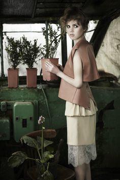 Yulia and Alisa Ruban Ruban Couture ss'12 lookbook