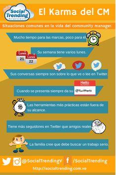 El Karma del Community Manager. #infografia #sm http://joseantonioantolin.com/el-karma-del-community-manager-infografia/
