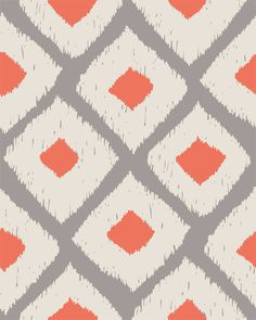 Ikat Seamless Pattern #Ikat