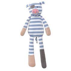 Pirate Pig Organic Plush Soft Toy
