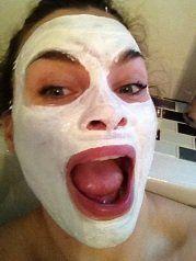 Cattier, het witte (groene) masker | PoppyPink