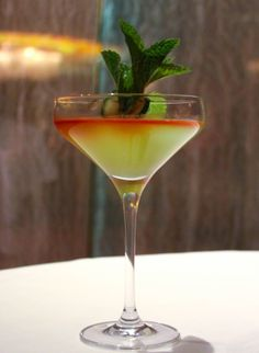 Did you know Estiatorio Milos has a secret menu? It includes the Clean Sweep and other curated cocktails. P.S. It can only be found at the bar.