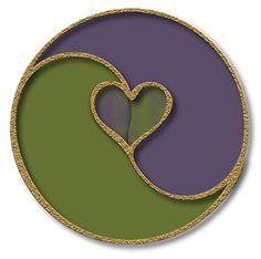 Yin Yang Purple Lace   Yin Yang • Balance • Symbolism