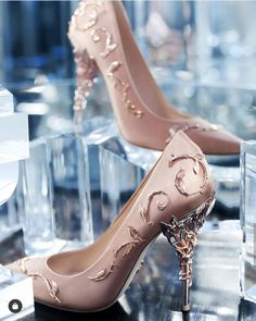 High Heels Boots, Gold High Heels, Lace Up Heels, Gold Prom Heels, High Heels Prom, Sparkly Heels, Fancy Shoes, Pretty Shoes, Cute Shoes