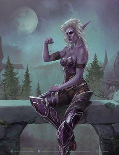 The Banshee Queen Sylvanas Windrunner by KrysDecker World Of Warcraft 3, Warcraft Art, Fantasy Girl, Dark Fantasy, Fantasy Characters, Female Characters, Warcraft Characters, Larp, Banshee Queen