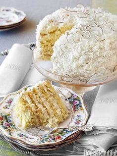 Sweet Treat: Dorothys Coconut Cake Recipe from Alex Hitz | Mothers Day - Yahoo! Shine