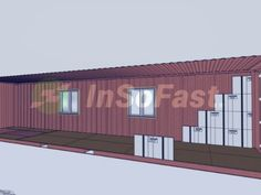 The easy way to insulate a shipping container. The easy way to insulate a shipping container. Shipping Container Buildings, Shipping Container Home Designs, Shipping Container House Plans, Shipping Containers, Container Shop, Storage Container Homes, Sea Container Homes, Shipment Container Homes, Home Insulation