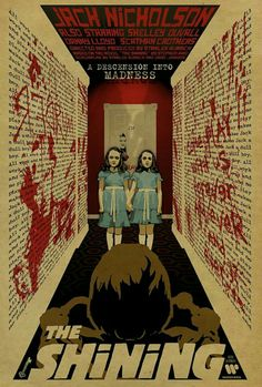 The Shining Movie poster horror