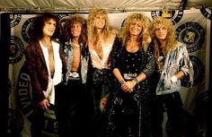 1987 - Whitesnake at the MTV Music Awards