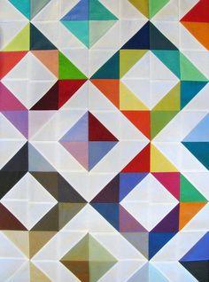 WIP: Rainbow Quilt
