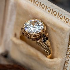 Vintage Engagement Rings   Antique Diamond Rings   EraGem Estate Engagement Ring, Emerald Cut Diamond Engagement Ring, Emerald Cut Diamonds, Antique Engagement Rings, Diamond Cuts, Antique Diamond Rings, June Birth Stone, Love Ring, Unique Rings