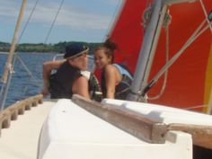 """Logan's first sailing trip to Power Island.  It is super interesting hearing what Reid and Belle had to tell Logan about """"Sailing"""""""