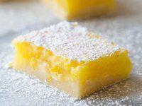 Sajtburger Makaróni - Észak-Amerikai Konyha - Receptek Messziföldről - Egzotikus fűszerek Lemon Cake Bars, Lemon Brownies, Lemon Squares, Shortbread Crust, Thing 1, Best Candy, Brownie Bar, Cake Flour, Kuchen