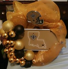 #saintswreath #wreath #whodat