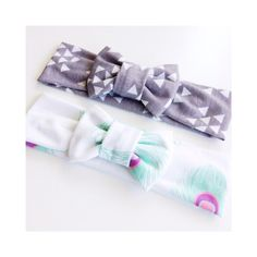 Bow headbands for baby girl