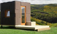 Looking to reconnect with nature without roughing it on a campsite? Ecocubo, a tiny portable home made of wood and cork could be the answer you're looking for. Designed by a Portuguese startup, the prefabricated house can be transported and pop up nearly anywhere to offer an immersive experience in the outdoors with minimal site impact.