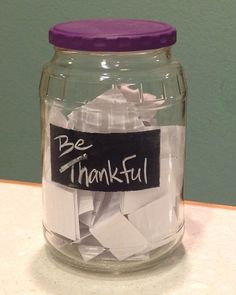 Creativity in Therapy: Gratitude Jar -- An Activity to Focus on Thankfulness #creativityintherapy