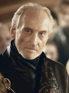 Charles Dance as Tywin Lannister on the HBO series Game of Thrones. Hottie.