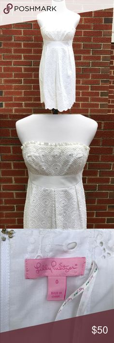 Lilly Pulitzer Dress. Size 0 Lilly Pulitzer Dress. Size 0. Fully lined. Great condition. Lilly Pulitzer Dresses Strapless