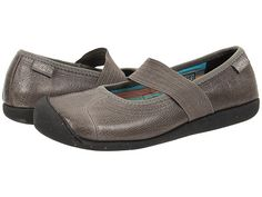 Keen Sienna MJ Leather Gargoyle Pebbled - Zappos.com Free Shipping BOTH Ways