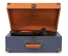 Crosley | Keepsake - Blue Multi #crosley #turntable #keepsake #urbanoutfitters